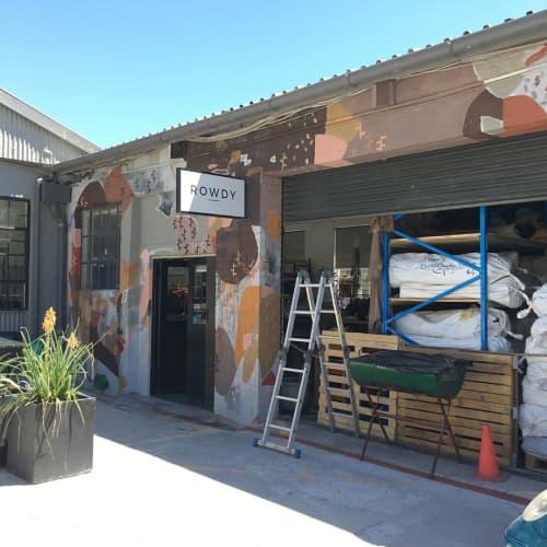 Murals by Paul Senyol seen at ROWDY, Cape Town - Mural