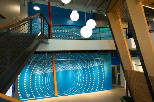 Murals by Erik Otto seen at LinkedIn Sunnyvale, Sunnyvale - Shifting Landscape