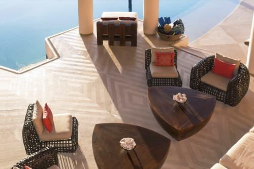 Chairs by Kenneth Cobonpue seen at Casa Millas, Puerto Vallarta, Mexico, Puerto Vallarta - Matilda Easy Armchair and Easy Chair