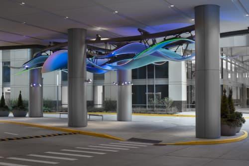Sculptures by Mark Davis at Ann & Robert H. Lurie Children's Hospital of Chicago, Chicago - Healing Waters