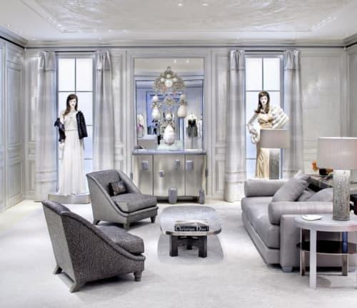 Interior Design by Peter Marino Architect at Dior, 57th St, New York - Interior Design
