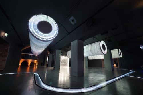 Art & Wall Decor by Chris Klapper seen at Hydropolis Museum, Wrocław - Symphony in D Minor
