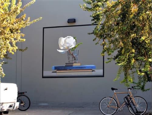 Still Life with Billie Holiday | Murals by Guy Diehl | Davis Ace Hardware in Davis