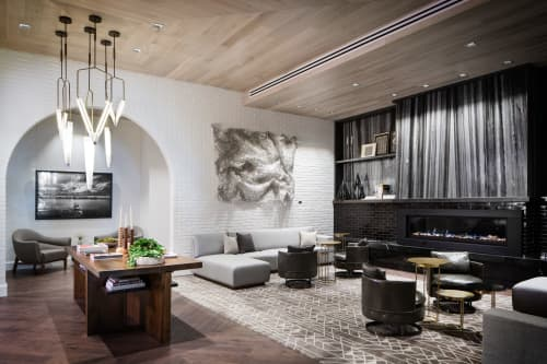 Art Curation by NINE dot ARTS at HALCYON, a hotel in Cherry Creek, Denver - Art Curation