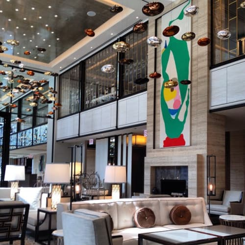 Painting | Paintings by Monique Prieto | The Langham Chicago in Chicago