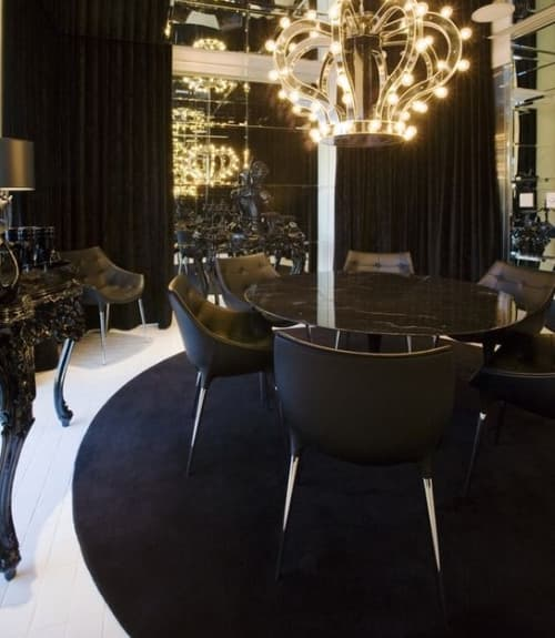 Chairs by Philippe Starck seen at SLS Hotel, a Luxury Collection Hotel, Beverly Hills, Los Angeles - Passion Chair