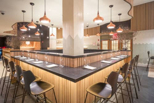 Wood Bar | Furniture by Cider Press Woodworks | Agern in New York