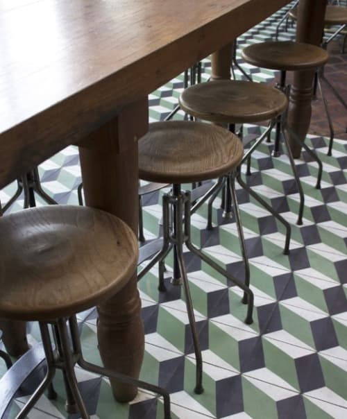 Chairs by Walter Manzke seen at République, Los Angeles - Bar Stool