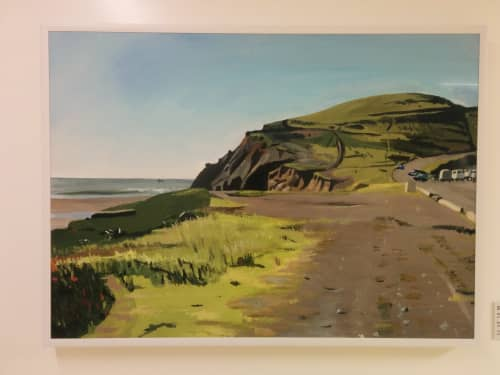 Paintings by Stanley Goldstein at Zuckerberg San Francisco General Hospital and Trauma Center, San Francisco - Rodeo Beach