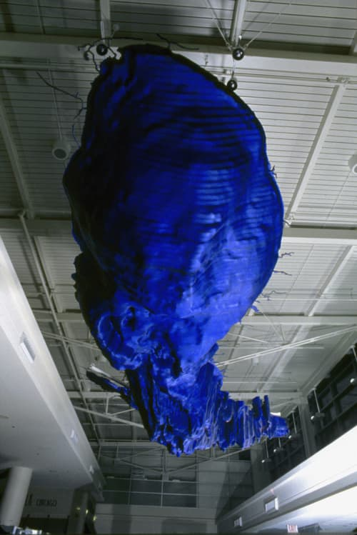 Sculptures by Todd Slaughter at Chicago Midway International Airport (MDW), Chicago - The Body of Lake Michigan
