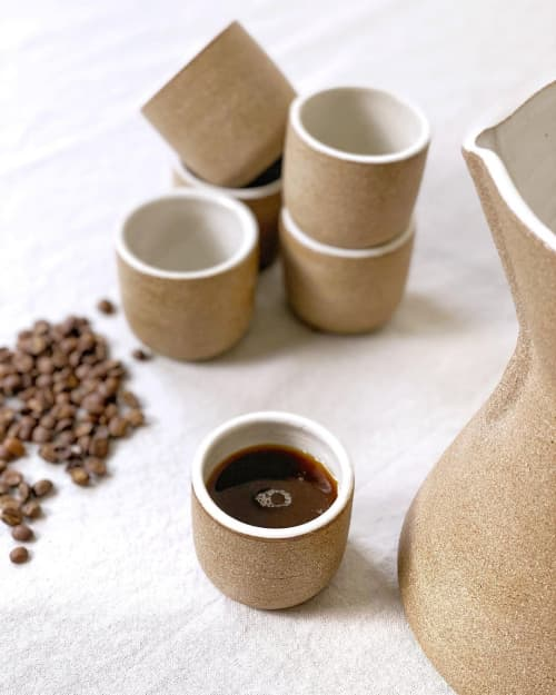 Espresso Tumblers   Cups by Stone + Sparrow
