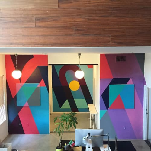 Painting and Mural | Murals by Teddy Kelly | Green Thumb Agency in Costa Mesa