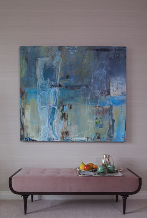 Mixed Media on Canvas | Paintings by Bonney Goldstein