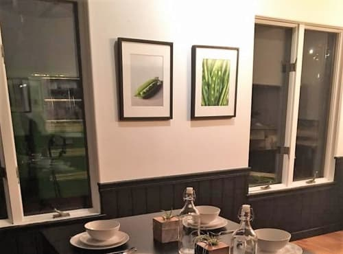 Photography by Paulette Phlipot seen at The Haven, Ketchum - Peas