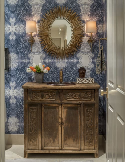 Furniture by Clubcu seen at Private Residence - Antique Cabinet