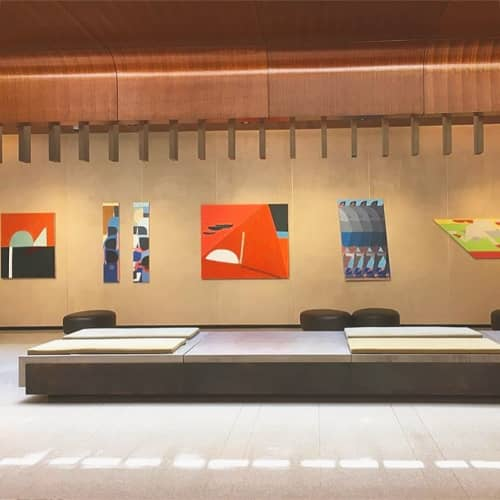 Gallery | Paintings by Adrian Kay Wong | Hell's Kitchen in New York