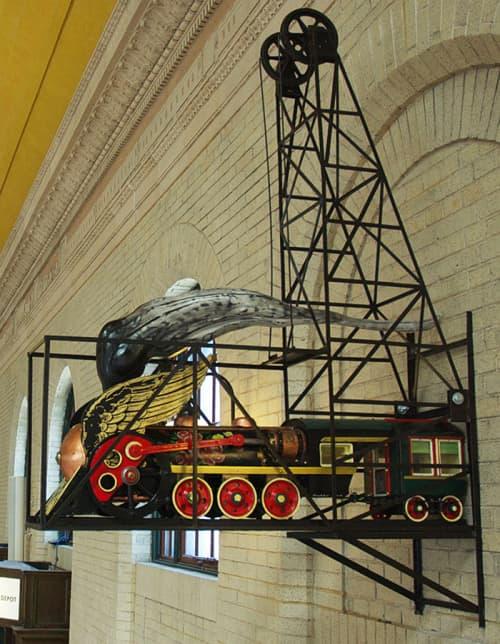 Sculptures by Kyle Fokken - Artist LLC at Union Depot, St. Paul, Saint Paul - The East Friesian Flyer