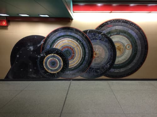 As Above So Below | Paintings by Ellen Driscoll | Grand Central Terminal in New York