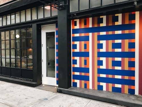 Exterior Mural | Murals by Hisham A. Bharoocha | De Maria in New York