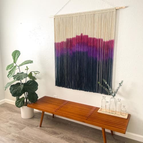 Macrame Wall Hanging by Love & Fiber seen at Private Residence, San Diego - Modern Macrame Wall Hanging