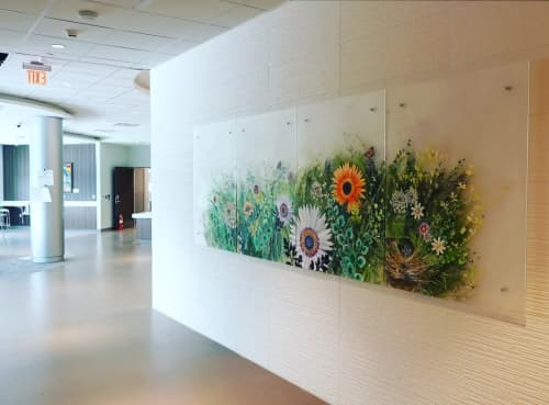 Meadow of Life   Paintings by Cara Enteles Studio   Penn State Health Hampden Medical Center in Enola