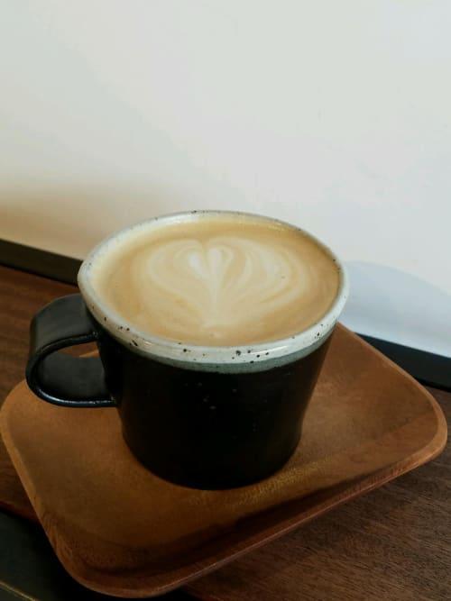Latte Mug | Tableware by Len Carella | Wildcraft Espresso Bar in San Francisco