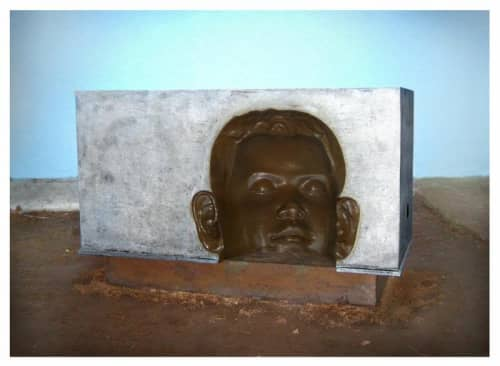 Sculptures by Zach Taljaard seen at ST MARYS DAY CARE CENTRE, Grahamstown - The Dreamer