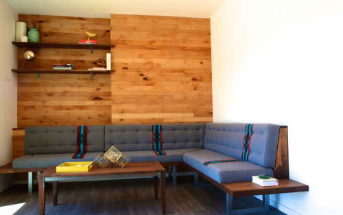 Custom Banquette | Couches & Sofas by FOLK | Private Residence, Hawthorne, Portland, OR in Portland