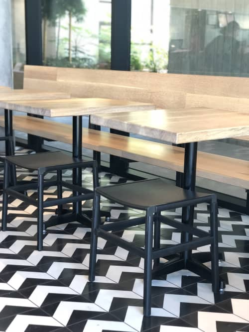 Shorty Backless Standard Chair   Chairs by Fyrn   Noon All Day in San Francisco