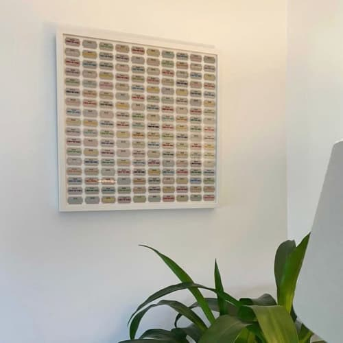 Art & Wall Decor by Lene Bladbjerg seen at Private Residence, Los Angeles - Scratch Me