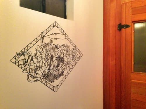 Mural   Murals by Jess Rotter   Ojai Rancho Inn in Ojai