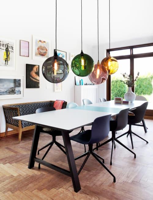 Ballroom XL Pendant Light   Pendants by Marie Burgos Design and Collection