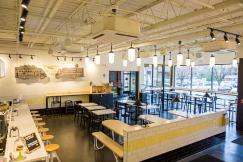 Custom Furnitures   Furniture by Holler Design   The Grilled Cheeserie in Nashville