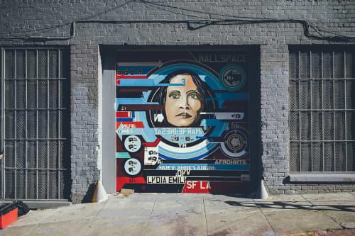 Street Murals by D Young V seen at Polk St, San Francisco, San Francisco - Wallspace Mural