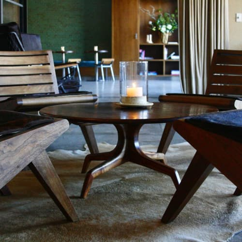 Tables by Tripp Carpenter seen at Farmshop (Marin), Larkspur - Lounge Furniture Table