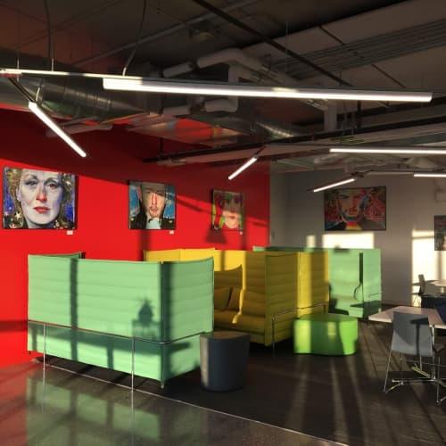 Paintings | Paintings by Julius Dizon Cruz Bautista Visual Art | Google Chicago Fulton Market in Chicago