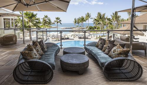 Couches & Sofas by Kenneth Cobonpue seen at Four Seasons Resort Oahu at Ko Olina, Kapolei - Lolah Sofa