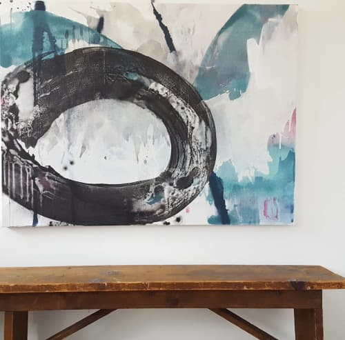 Paintings by Anne Abueva Studio - Abstract Painting