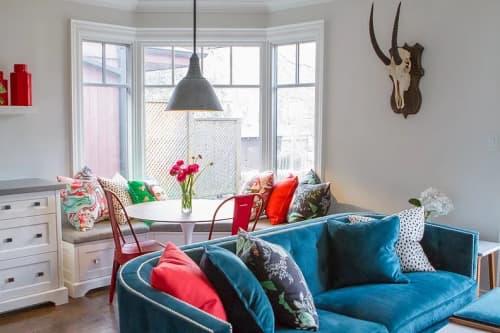 Interior Design by Lisa Batson Goldberg (LBG Interiors) seen at Forest Hill, Toronto - Forest Hill North - Kitchen + Living Revamp