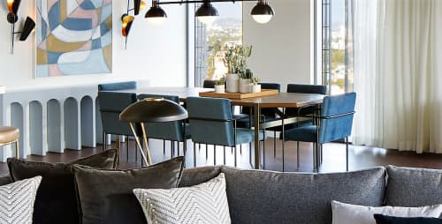 Trolley Side Chair | Chairs by Phase Design by Reza Feiz | The Jeremy West Hollywood in West Hollywood