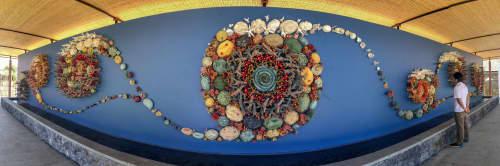 Sculptures by Courtney Mattison seen at Coral Triangle Center (CTC) - Semesta Terumbu Karang—Coral Universe