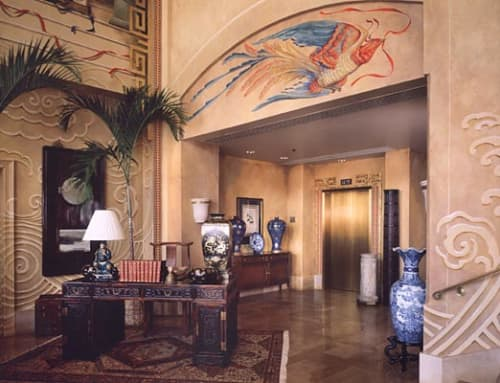 Mural | Murals by John Wullbrandt | Four Seasons Resort Lanai in Lanai City