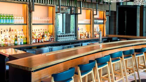 Bar | Furniture by Recycled Brooklyn | Halifax in Hoboken