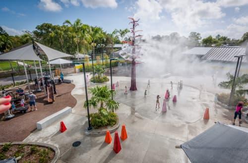 Cypress Landing | Public Sculptures by Matthew Geller | Zoo Miami in Miami