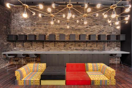 Lighting by Lightmaker Studio seen at KG&A (Kim Graham & Associates), Toronto - Large Floating Cone Fixture
