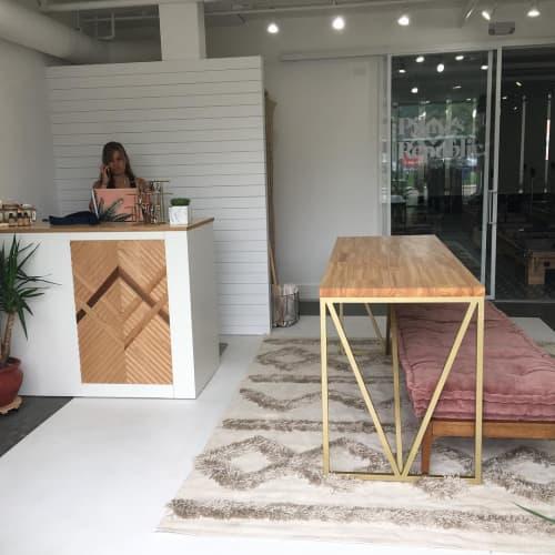 Tables by Papay Designs seen at Pilates Republic, Encinitas - Table