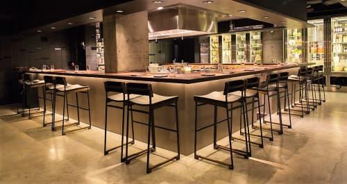 Diego Bar Stool | Chairs by Token | Momofuku Ko in New York