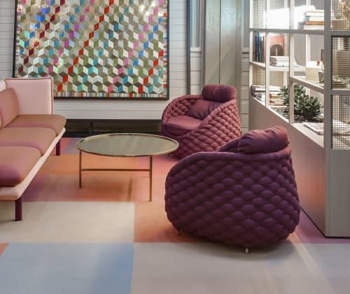 Chairs by Kenneth Cobonpue seen at Ovolo Woolloomooloo Hotel, Woolloomooloo - Rapunzel Easy Armchair