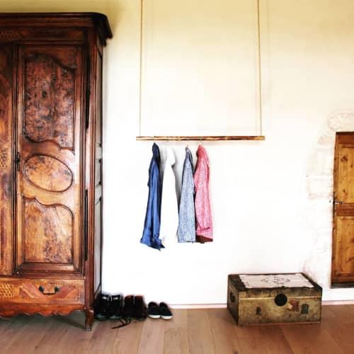Furniture by Dorian Étienne • Design Studio at Château du Cingle, Vernas - Simplicity