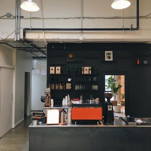 Coffee Bar | Tables by Arnaud Goethals | Vive La Tarte in San Francisco